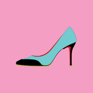 Michael Craig Martin RA High heel