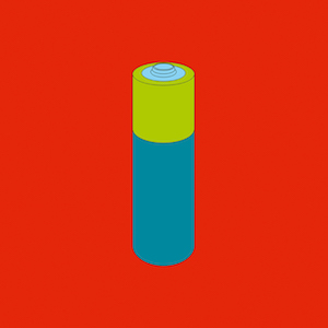 Michael Craig Martin RA Long-life battery