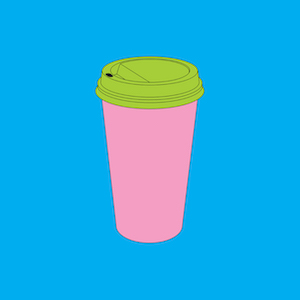 Michael Craig Martin RA Takeaway coffee
