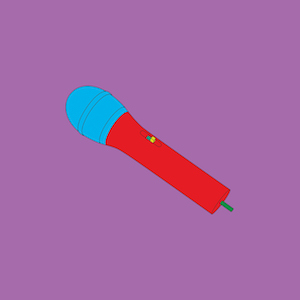 Michael Craig Martin RA Wireless mic