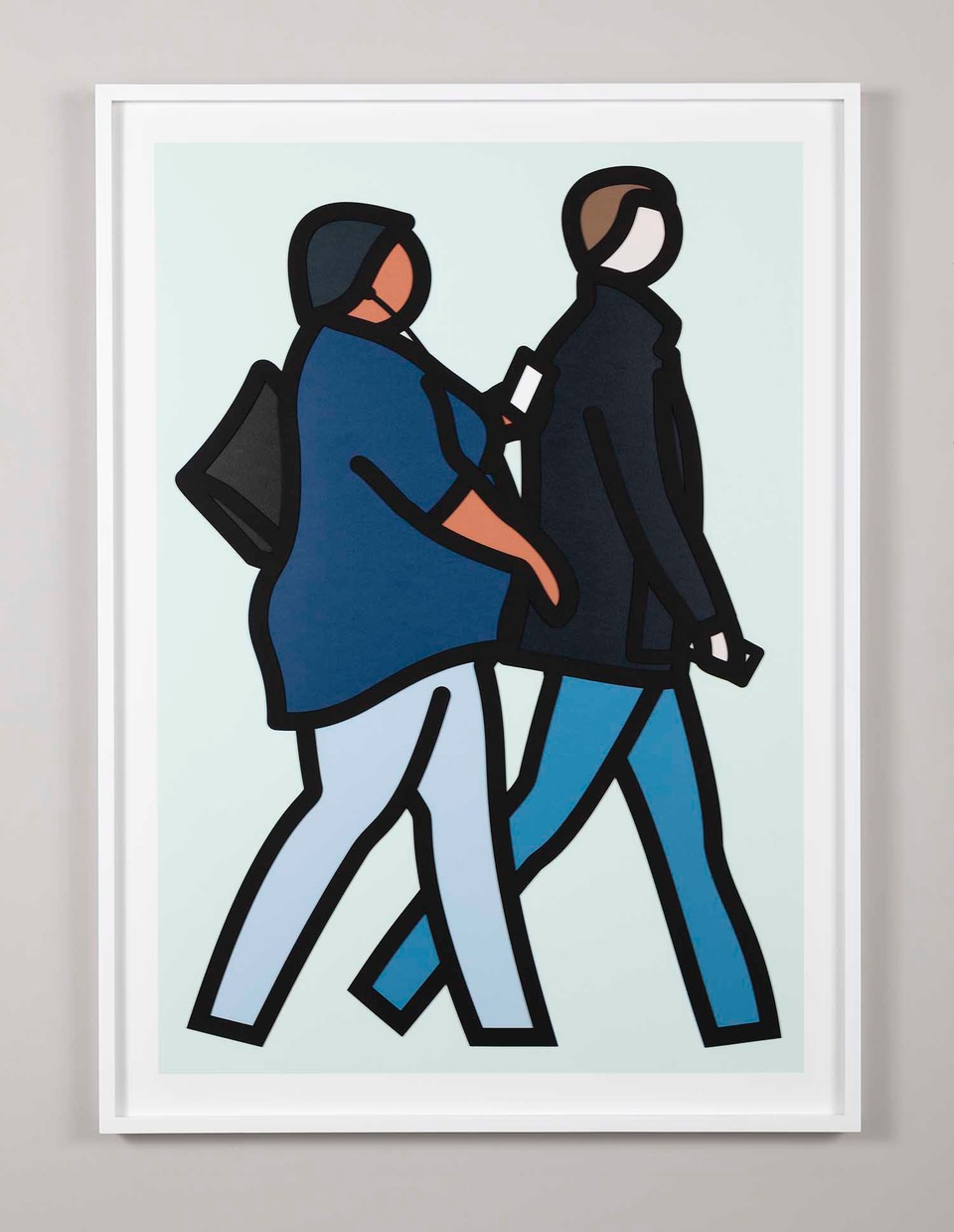 Julian Opie New York Couples 2