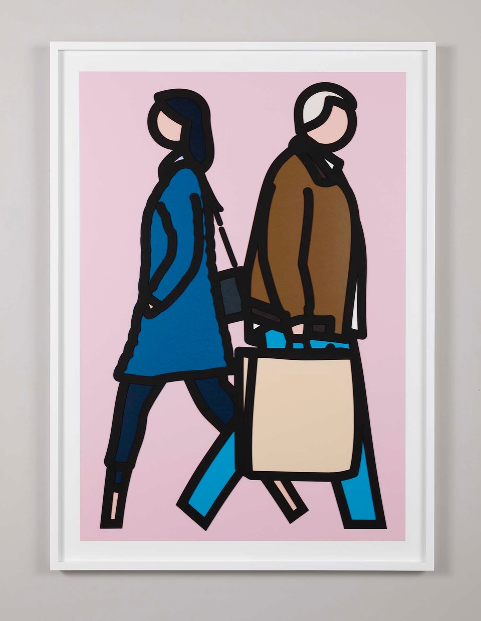 Julian Opie New York Couples 3