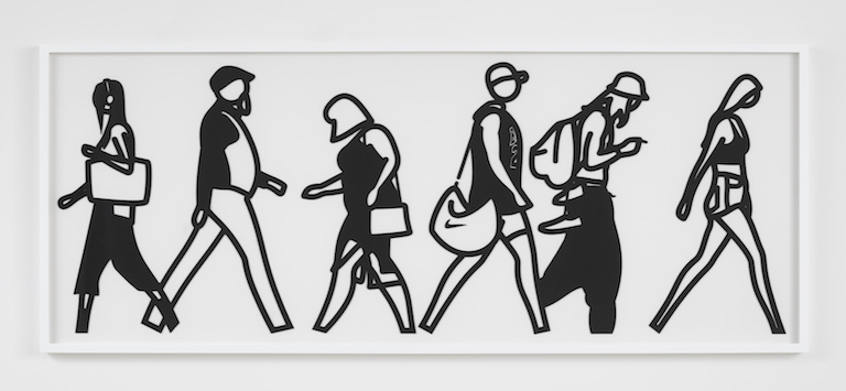 Julian Opie Walking in Melbourne No1