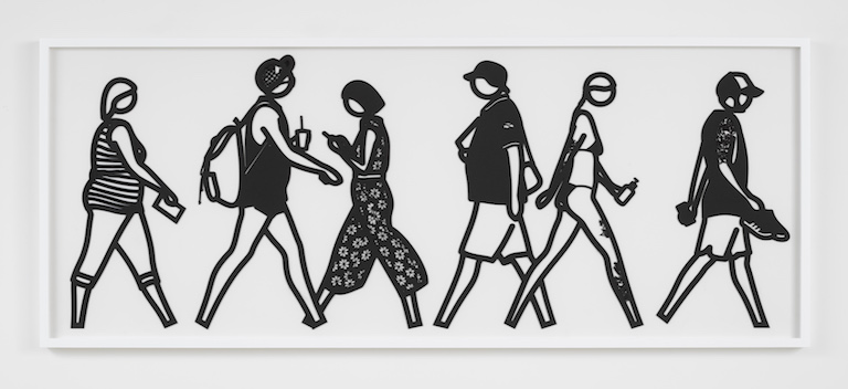 Julian Opie Walking in Melbourne No2