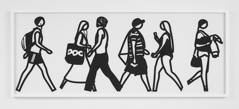 Julian Opie Walking in Melbourne No3