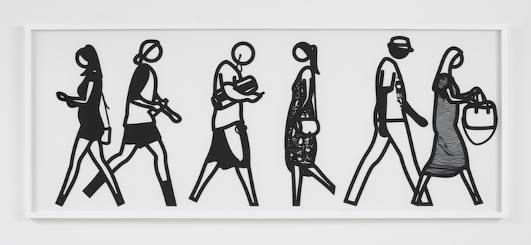 Julian Opie Walking in Melbourne No4