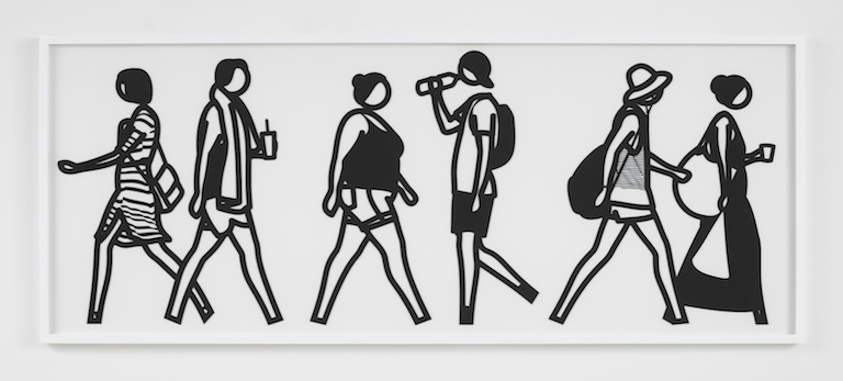 Julian Opie Walking in Melbourne No5