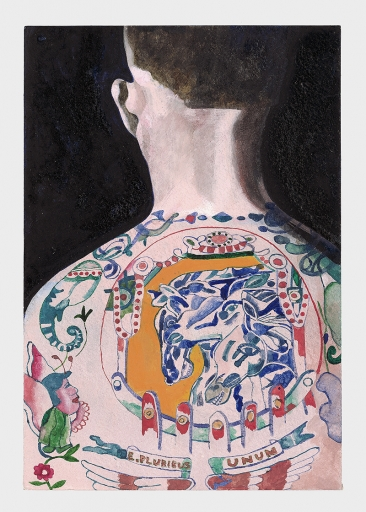 Peter Blake Tattooed People