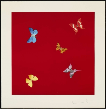 Damien Hirst, She Walks in Beauty